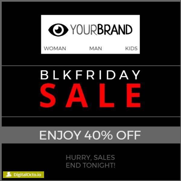 Black friday sale 40% off