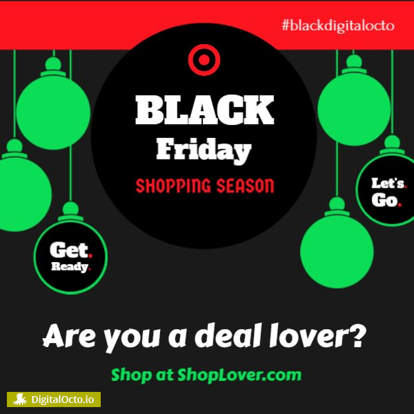 Black Friday - shop lover