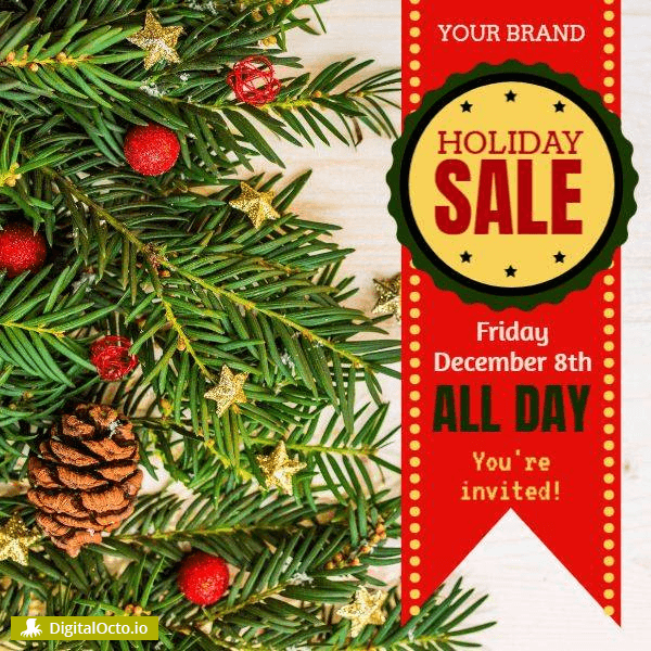 Christmas sale all day long
