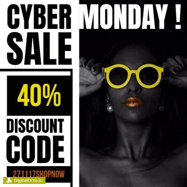 Cyber monday discount code sunglasses