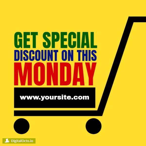 Cyber monday discount website
