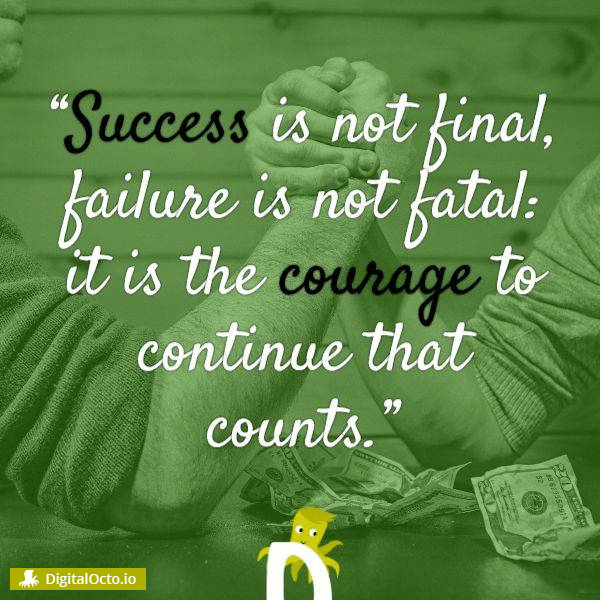 success is not the end