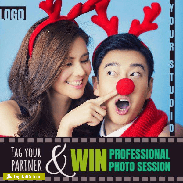 Win Christmas photo session