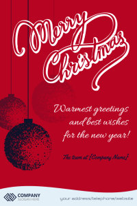12 Great Business Christmas Cards Templates From Designpro Free Digitalocto