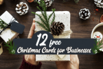 12 Great Business Christmas Cards Templates from DesignPro (FREE)