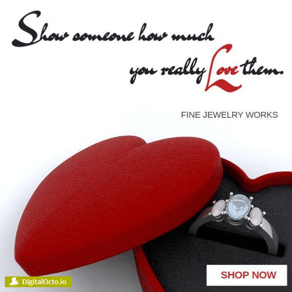 Show your love with jewelry this Valentine's day