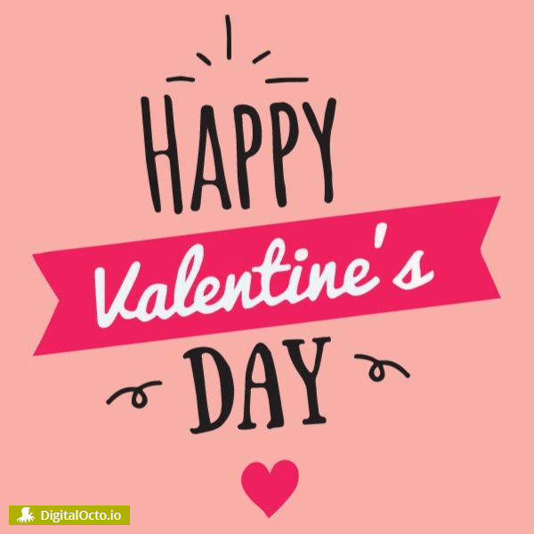 Valentine's day – many hearts