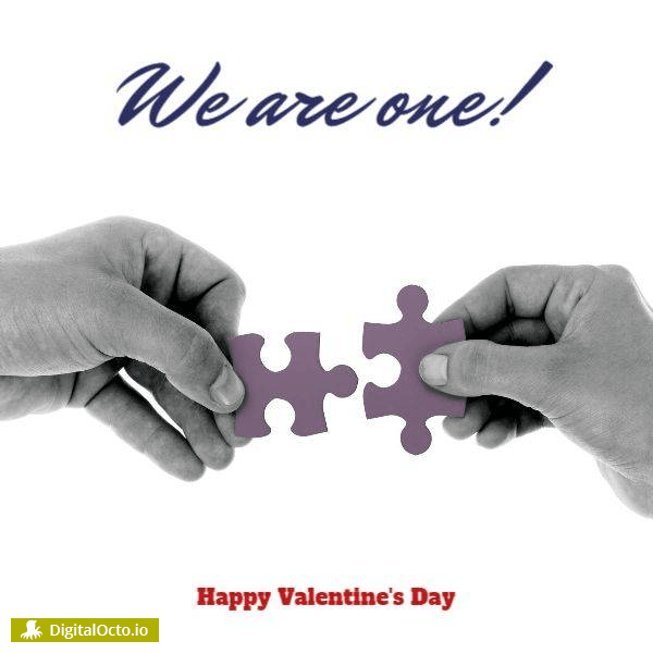 Valentine's day! We are one