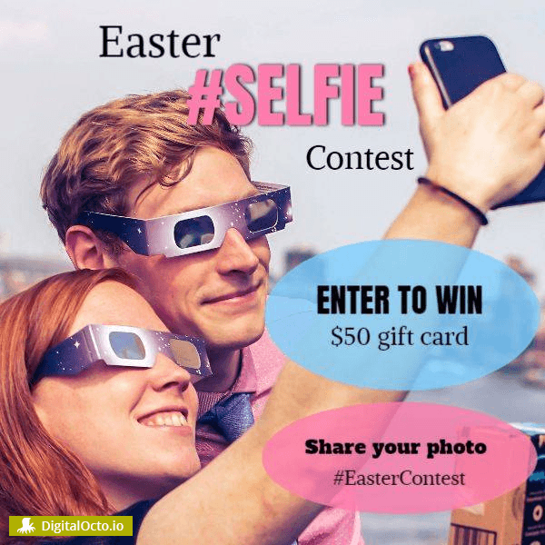 Easter Selfie Contest