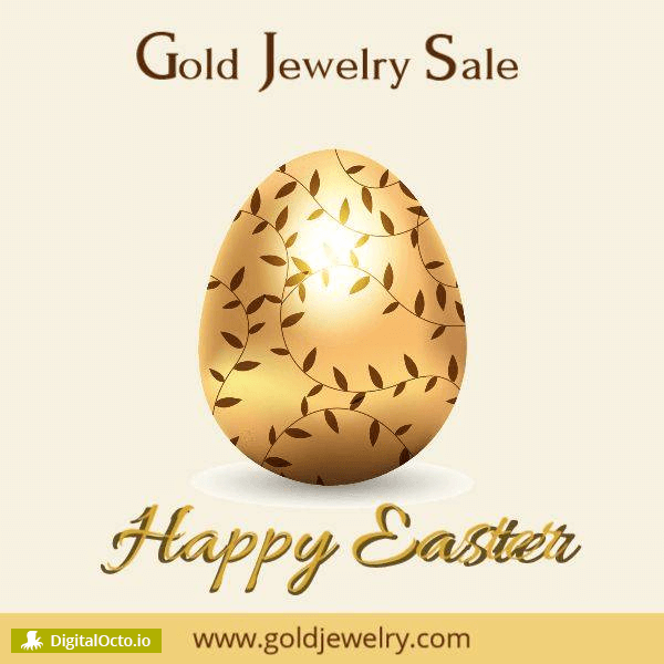 Happy Easter jewelry sale