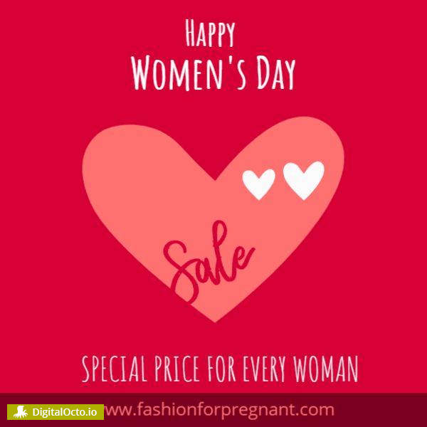 Happy women's day special price