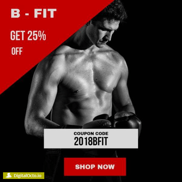 B-fit with coupon code