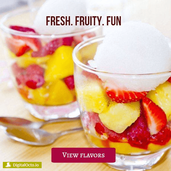 Fresh. Fruity. Fun