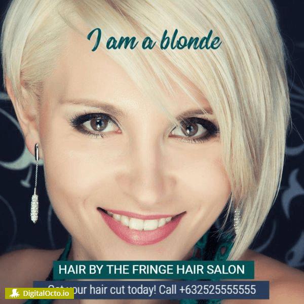 I am a blonde