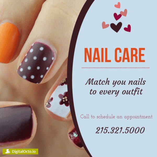 Match your nail to every outfit