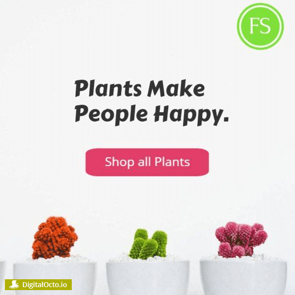 Plant make people happy