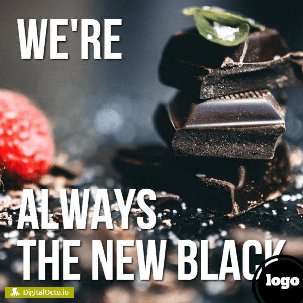 We're the new black