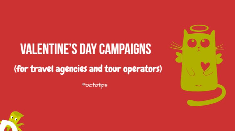 Social media and travel agencies Valentine's day