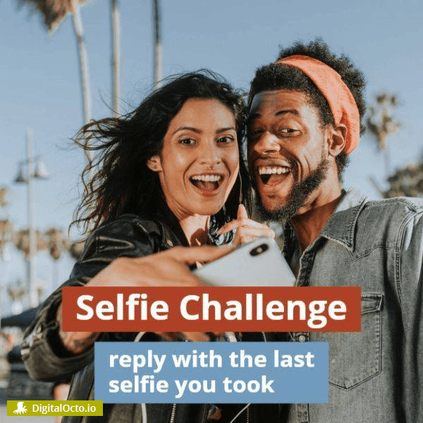 Selfie Challenge for social media