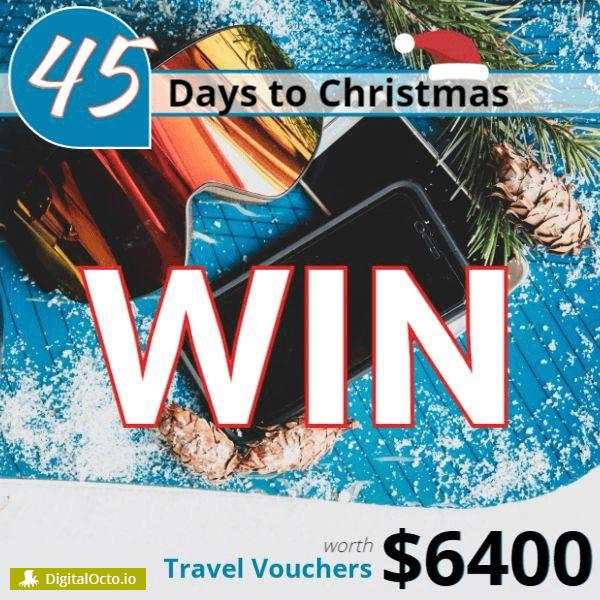 Win travel vouchers
