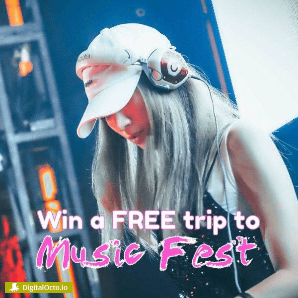 Win a free trip to music fest