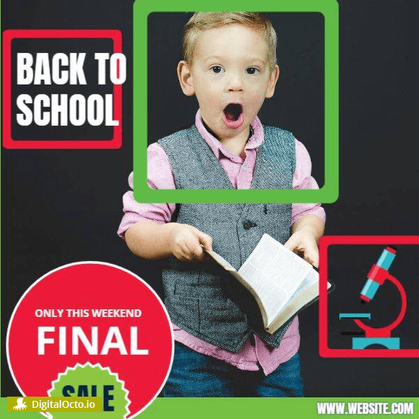 Back to School | Final Sale | Social Media | Design Template