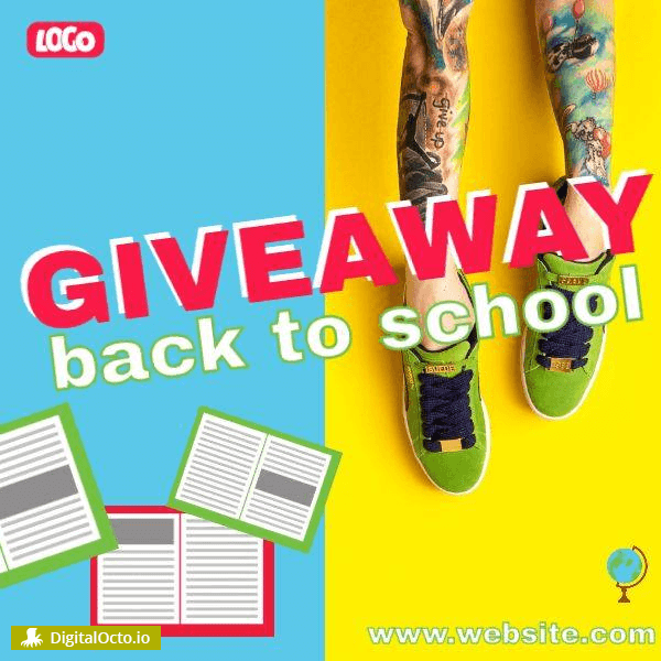 Back to School | Giveaway | Contest