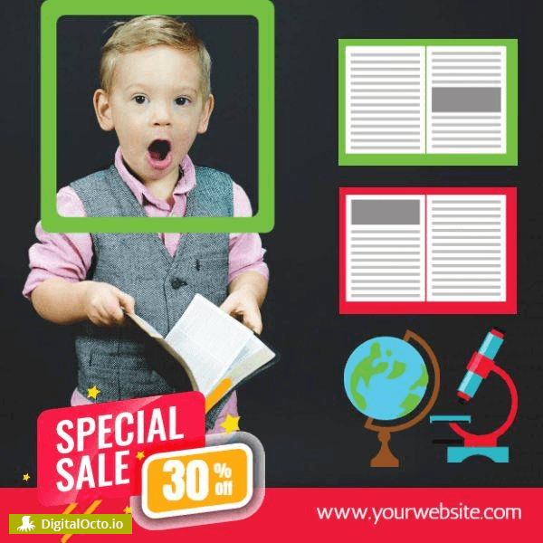 Back to School | Special Promotion | Social Media