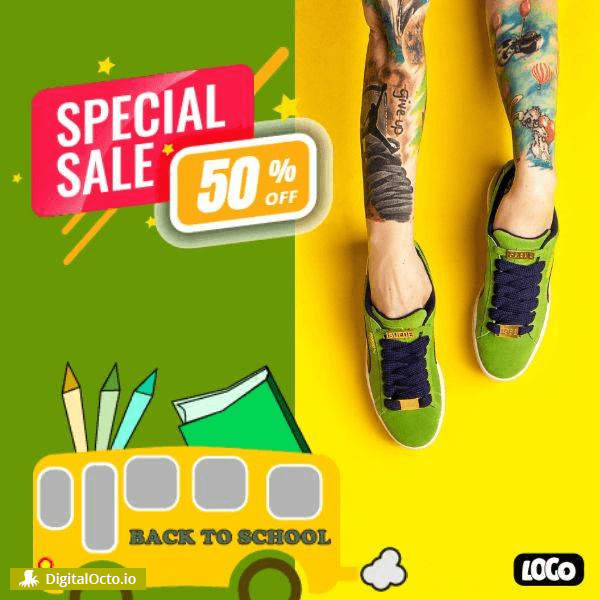 Special sale | Back to School | Social Media
